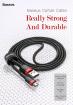 Dây cáp micro USB Baseus Cafule 100cm (2.4A)